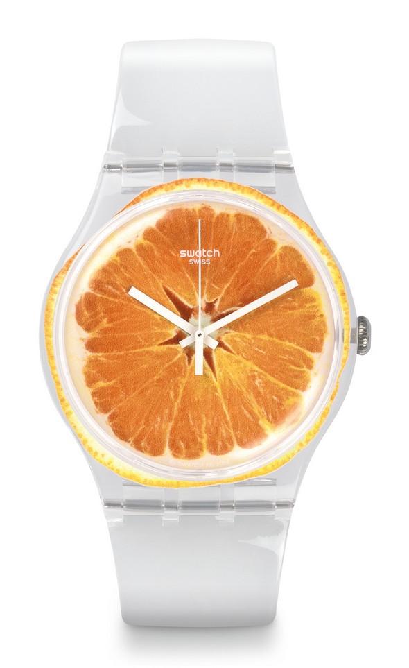 swatch, dolce vita collectie, sinaasappel