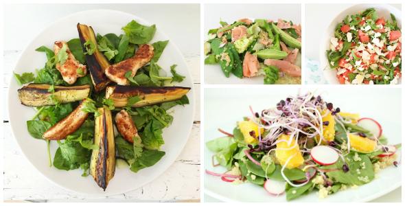de lekkerste salades