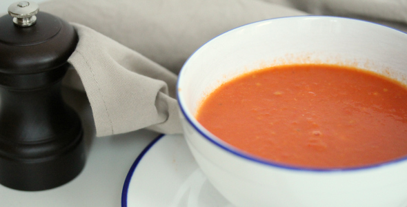 stevige tomatensoep
