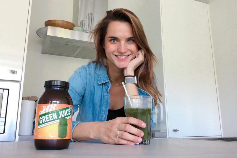 superfoodies foto, daisy, green juice