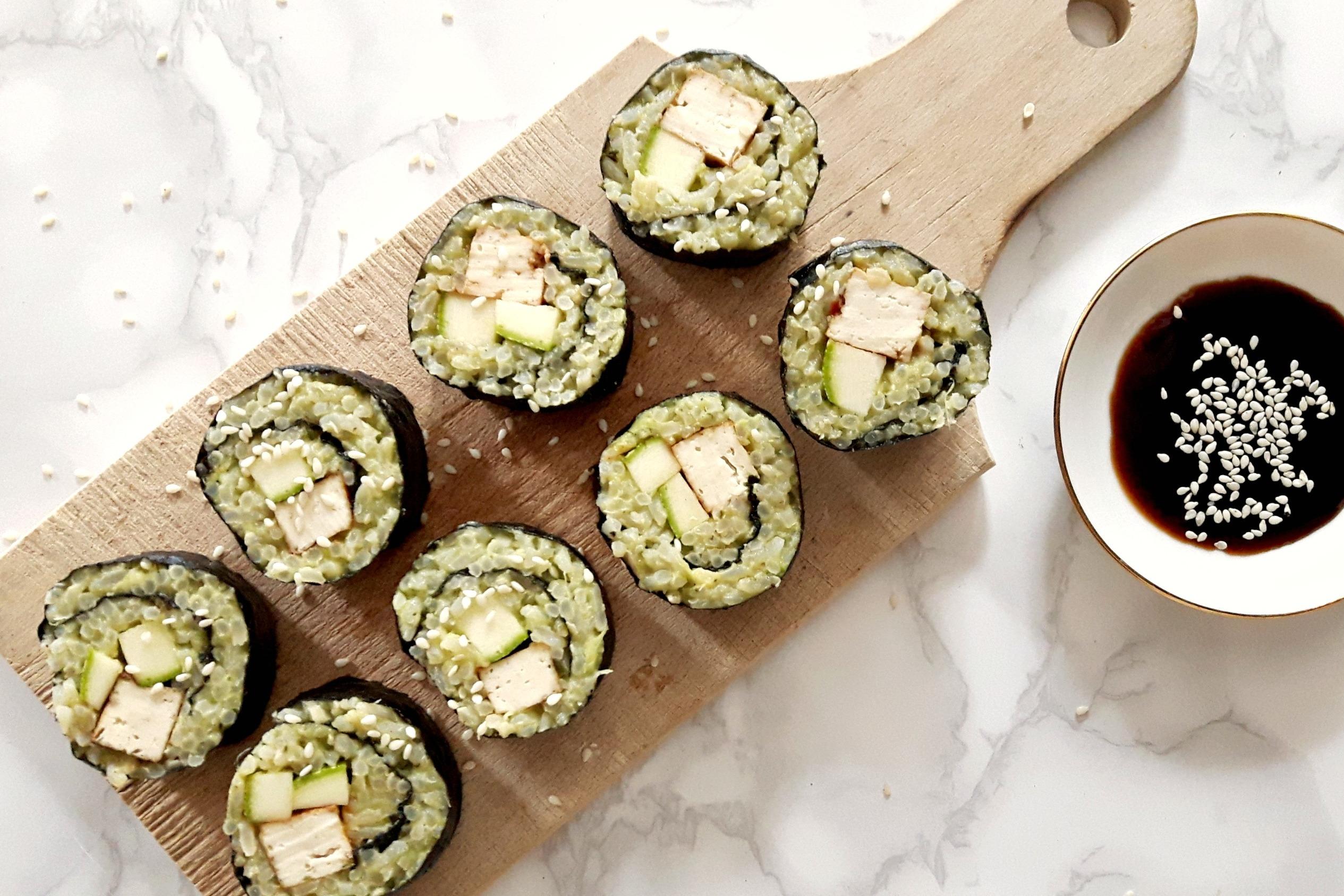 Sushi in de Pijp