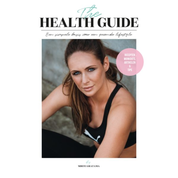 The Health Guide - Mirte Gratama, cover