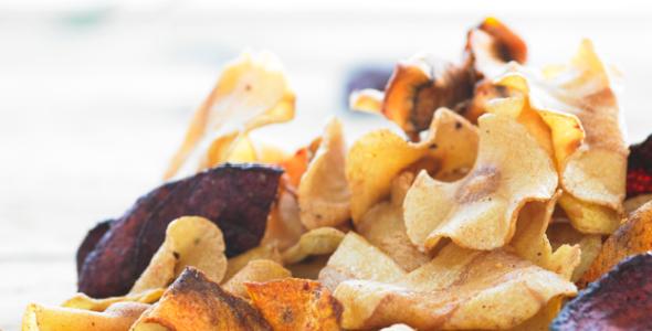 Tyrrells chips - groente chips