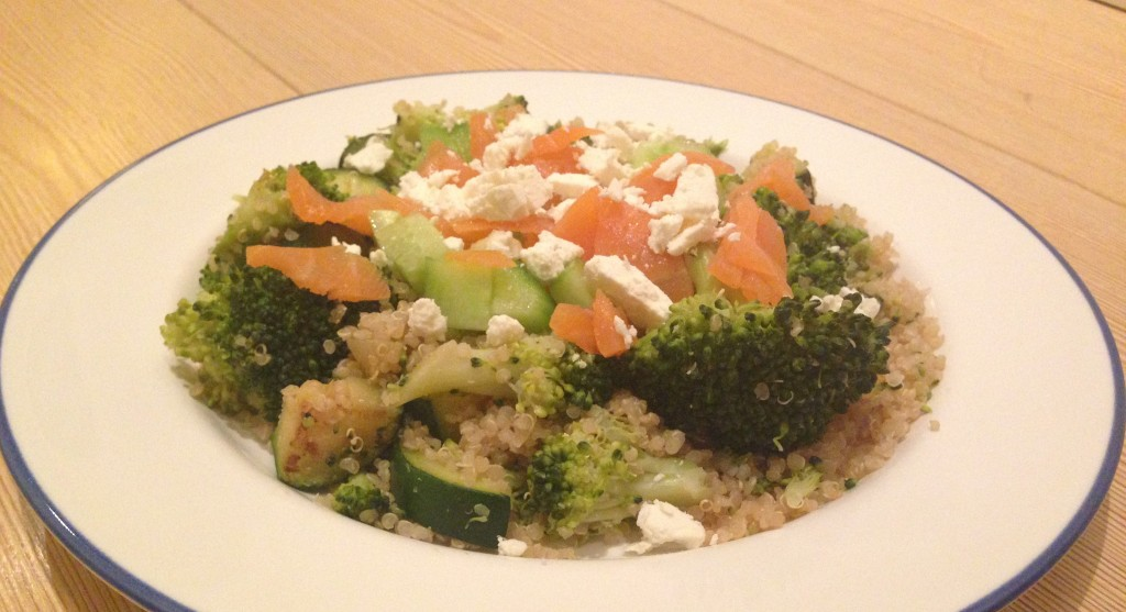 Recept quinoa