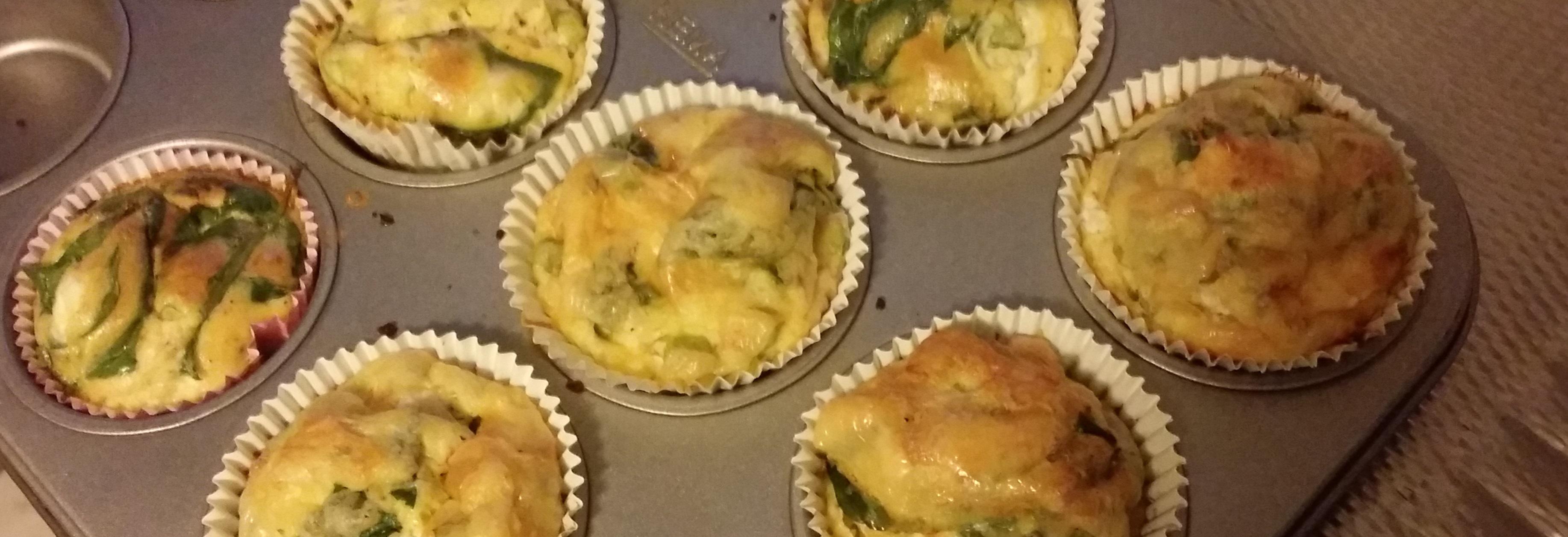 Gezonde ei muffins - eetdagboek Cynthia