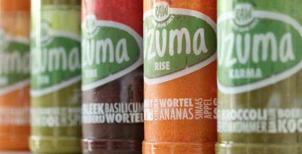 Uzuma, raw, green slow juice
