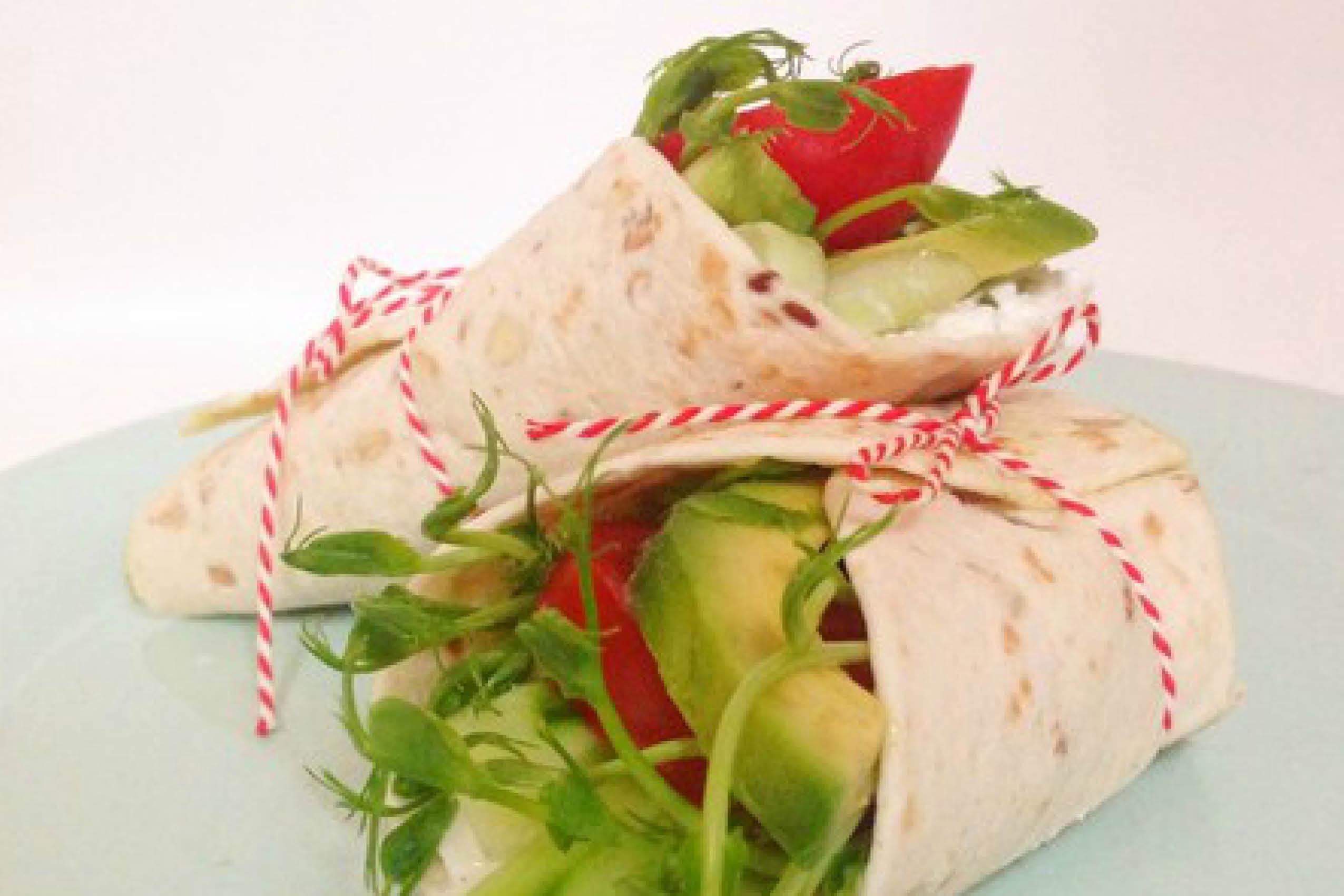 Vega wrap ILH, wraps, lunch