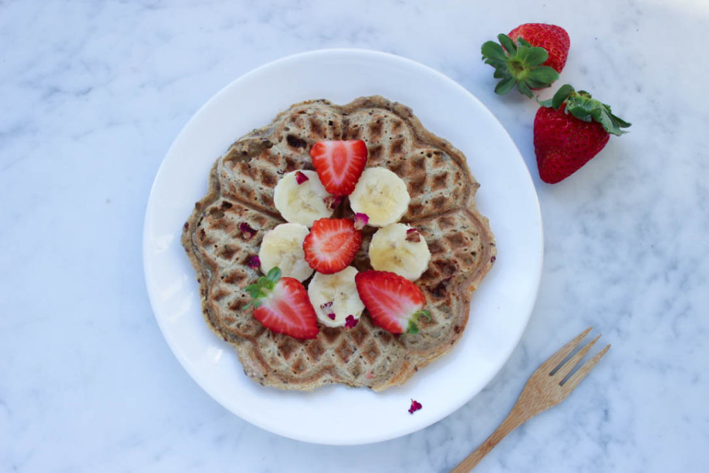banaan havermout wafels living the green life vegan