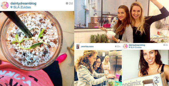 we love smoothies insta report workshop