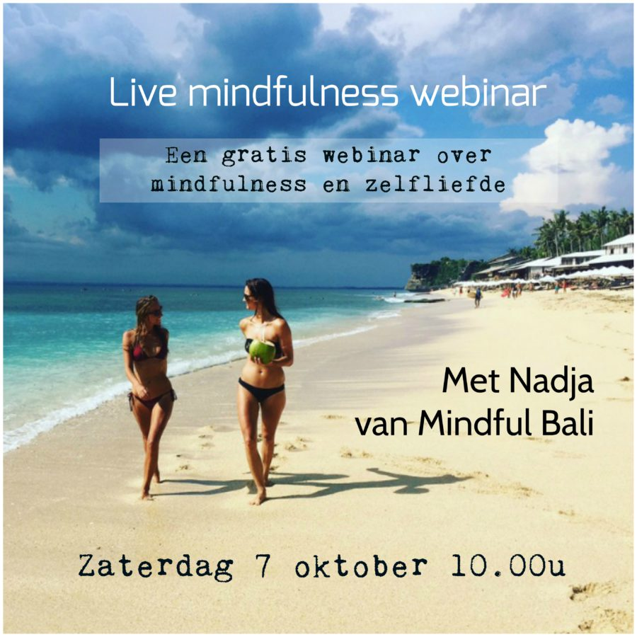 webinar mindfulness mindful bali