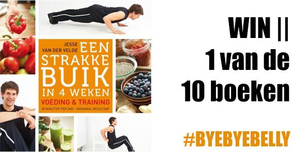 WIN - een strakke buik in 4 weken - Jesse van der Velde - boek