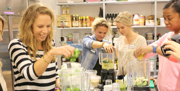 we love smoothies workshop