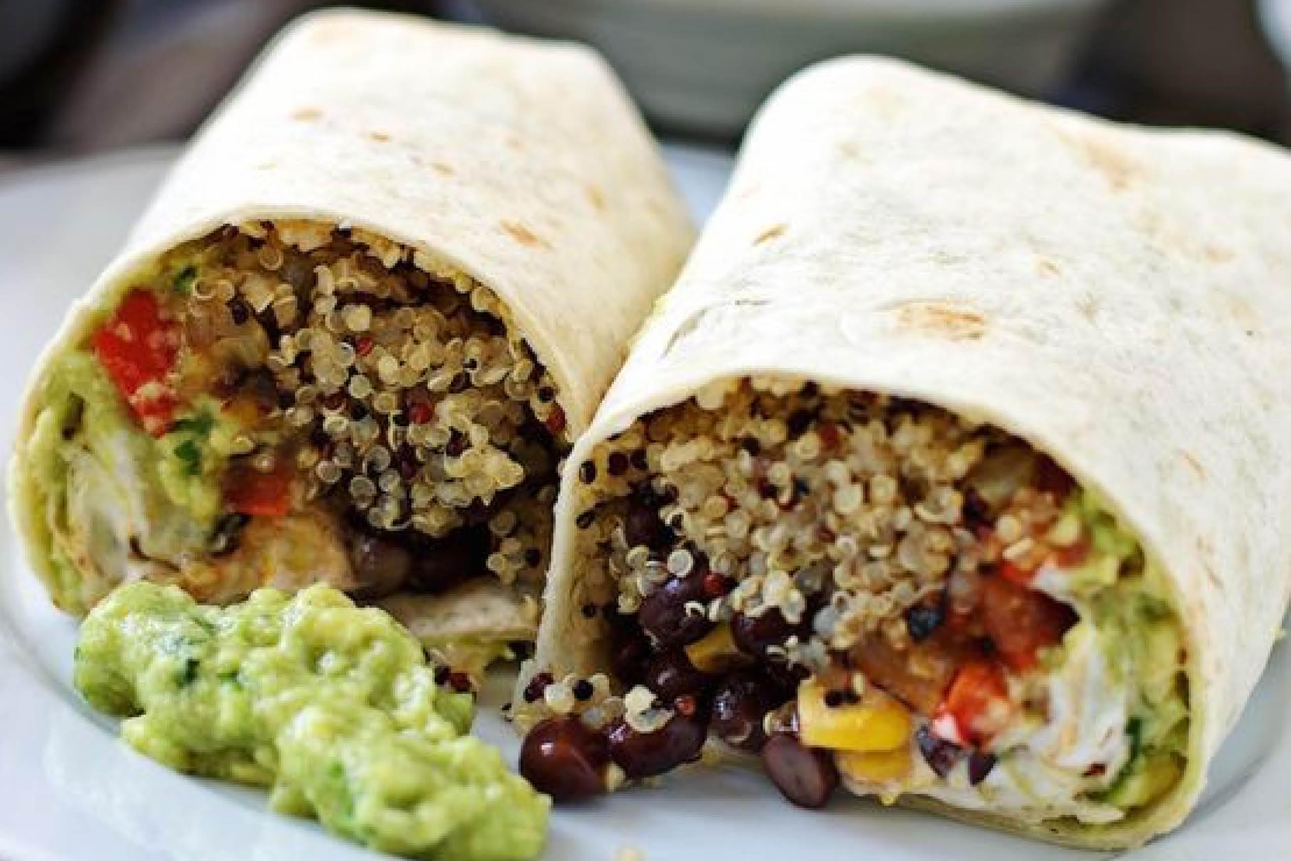 Wrap, ILH, Quinoa, lunch