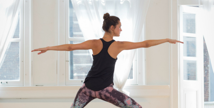 yoga daisy, yogastijl